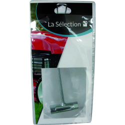 CLE A BOUGIE 13X16 EMBOUT PLAT